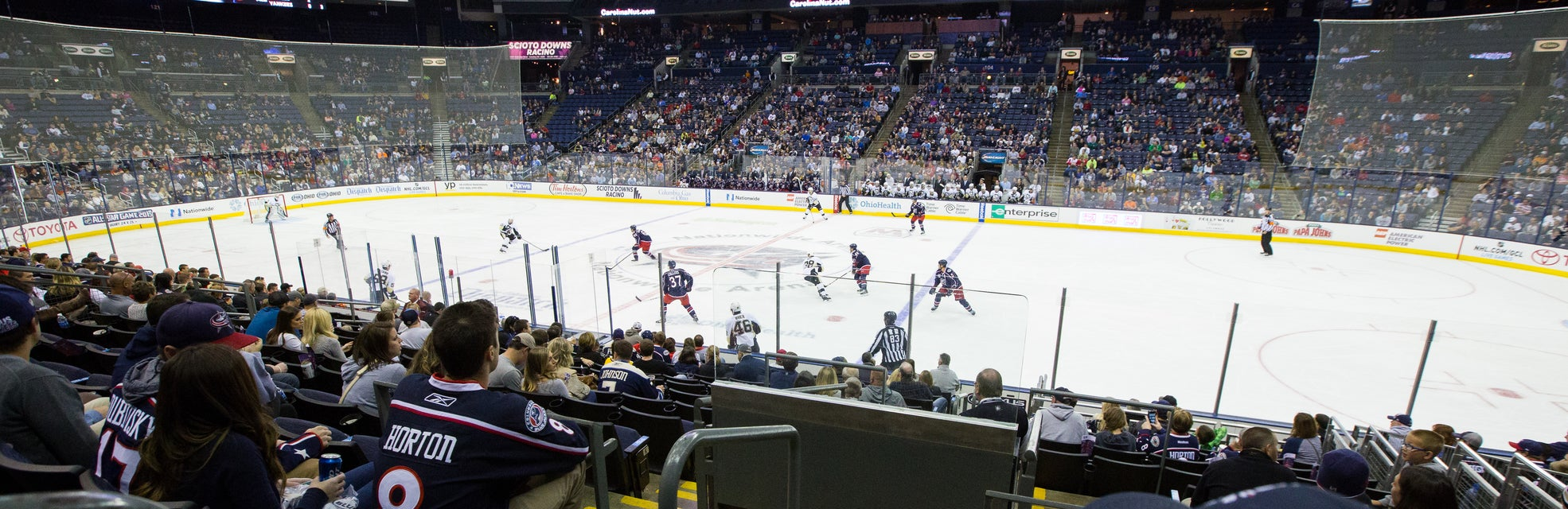 Seat view from Lower Bowl