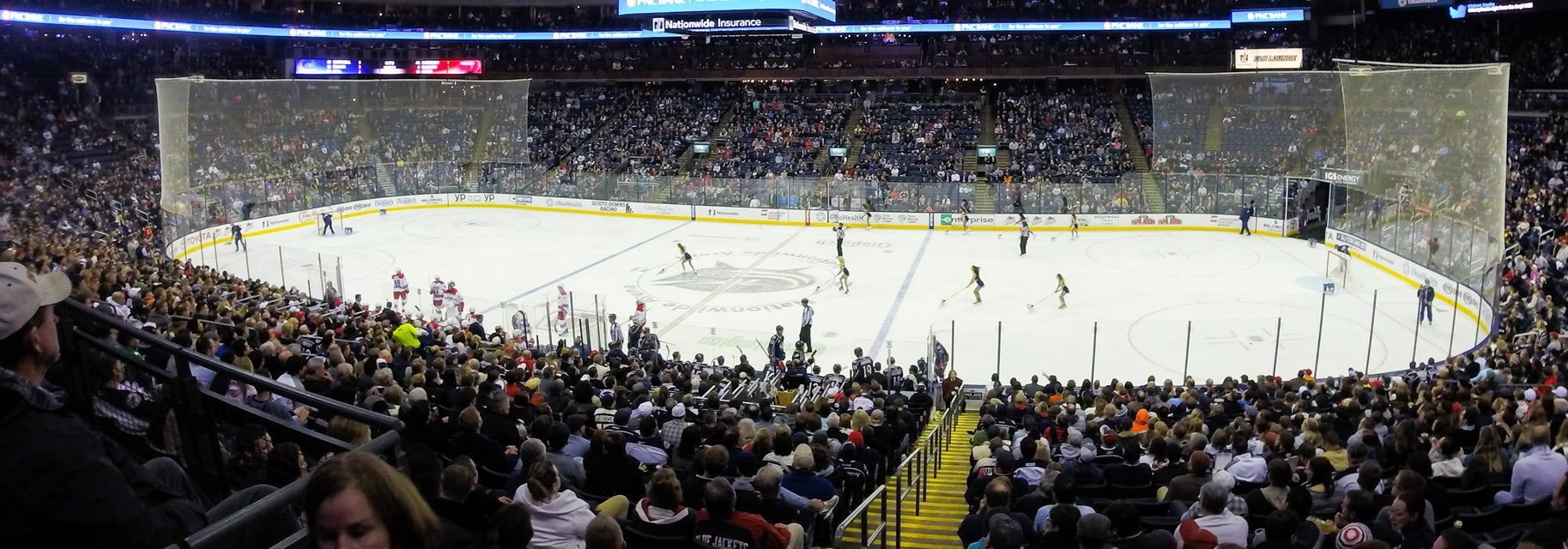 Seat view from Lower Glass
