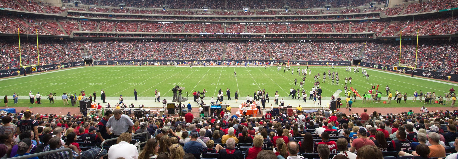 Seat view from Field Level Prime One