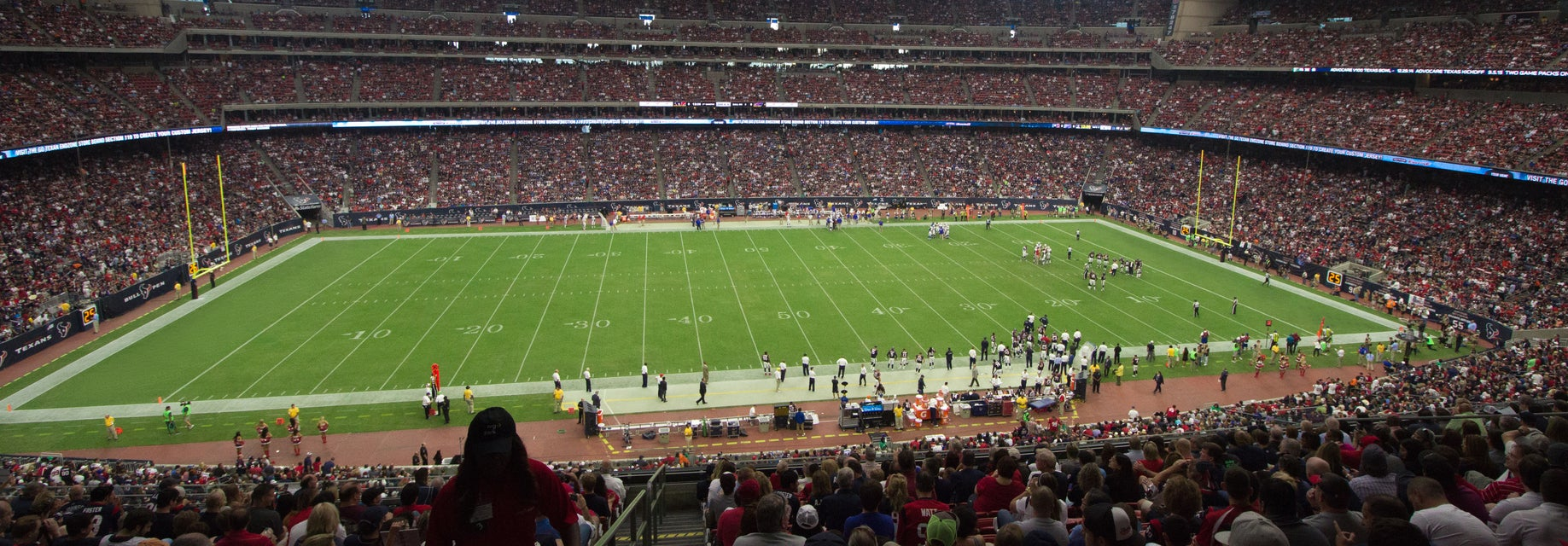 Seat view from Verizon Club One