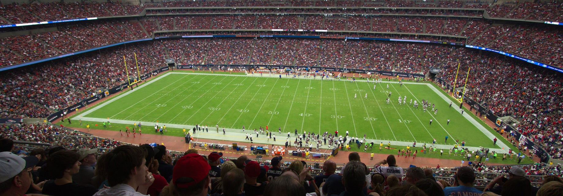 Seat view from Loge One