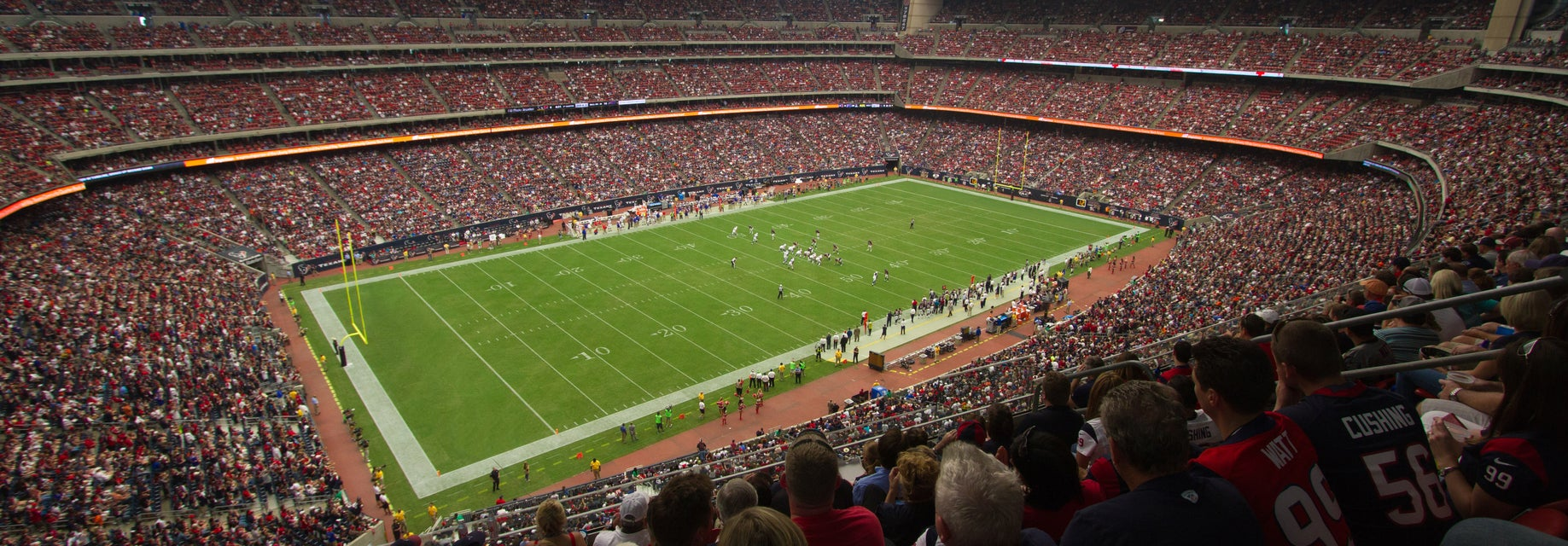 Seat view from Loge Two