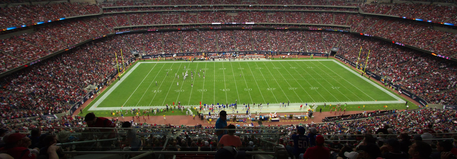 Seat view from Gridiron Sideline
