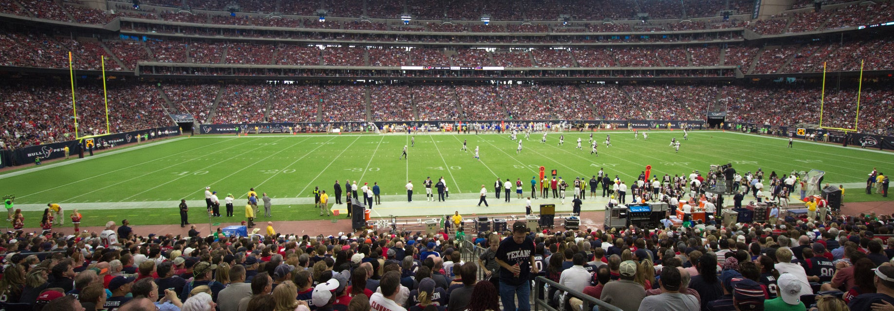 Seat view from Field Level Prime