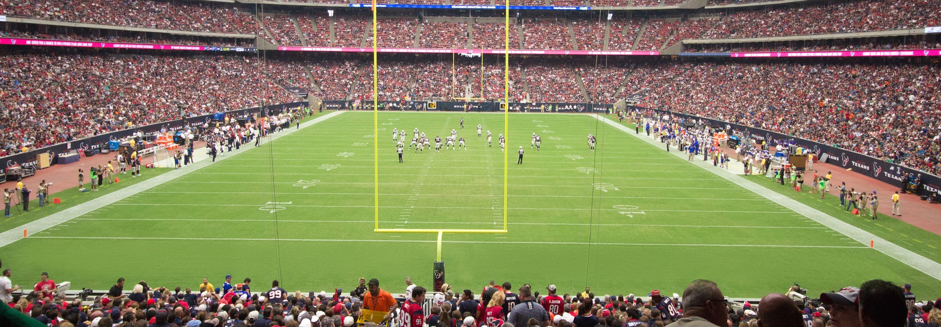 Seat view from Field Level Endzone