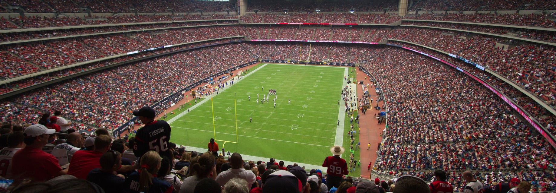 Seat view from Gridiron Loge
