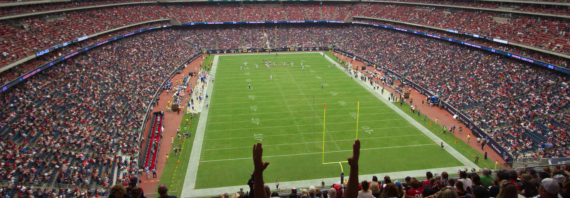 Seat view from Gridiron Endzone