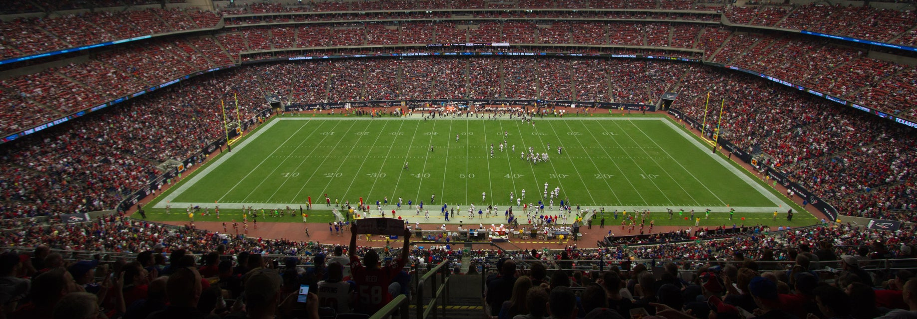 Seat view from Gridiron Midfield