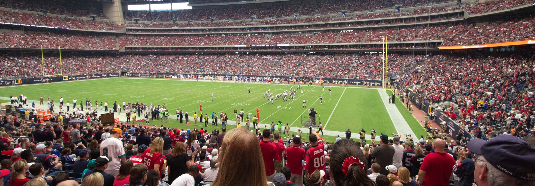 Seat view from Field Level Sideline