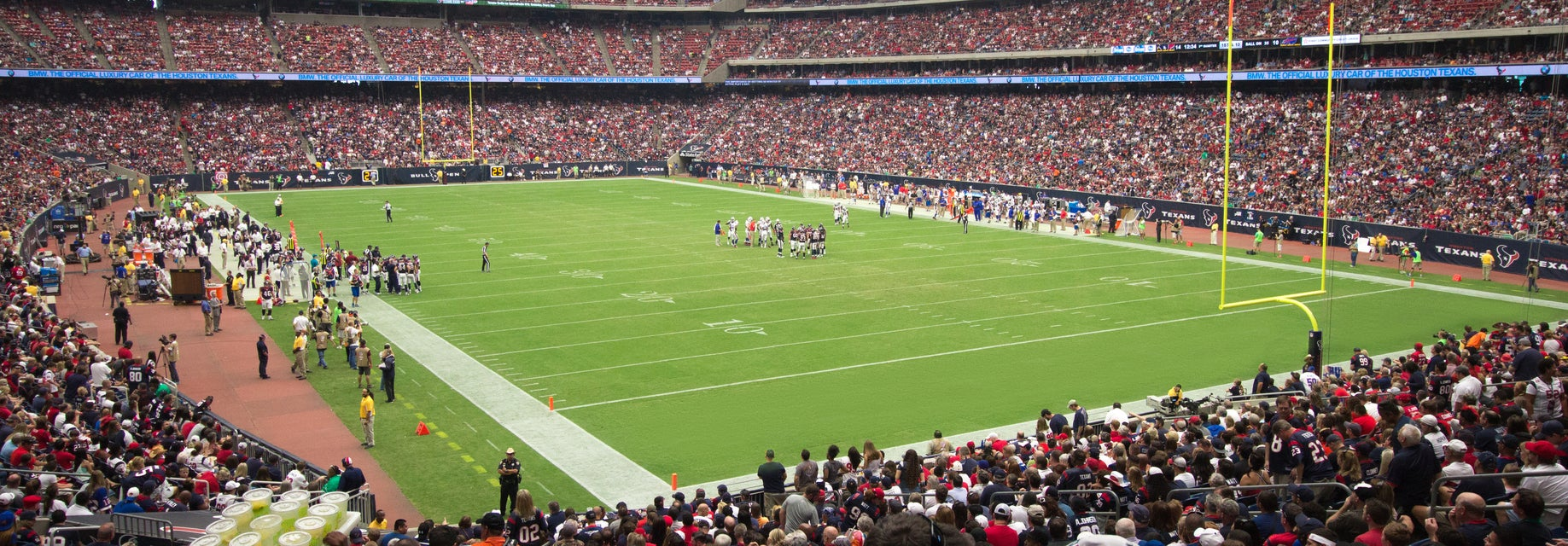 Seat view from Field Level Corner