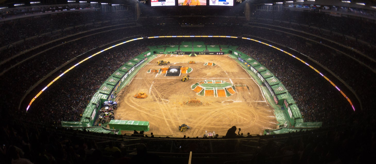 Seat view from Gridiron Endzone