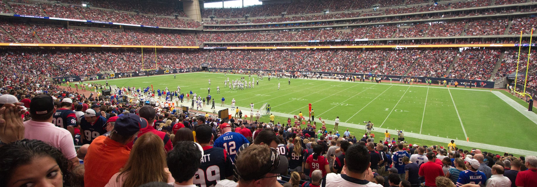 Seat view from Field Level Prime Two