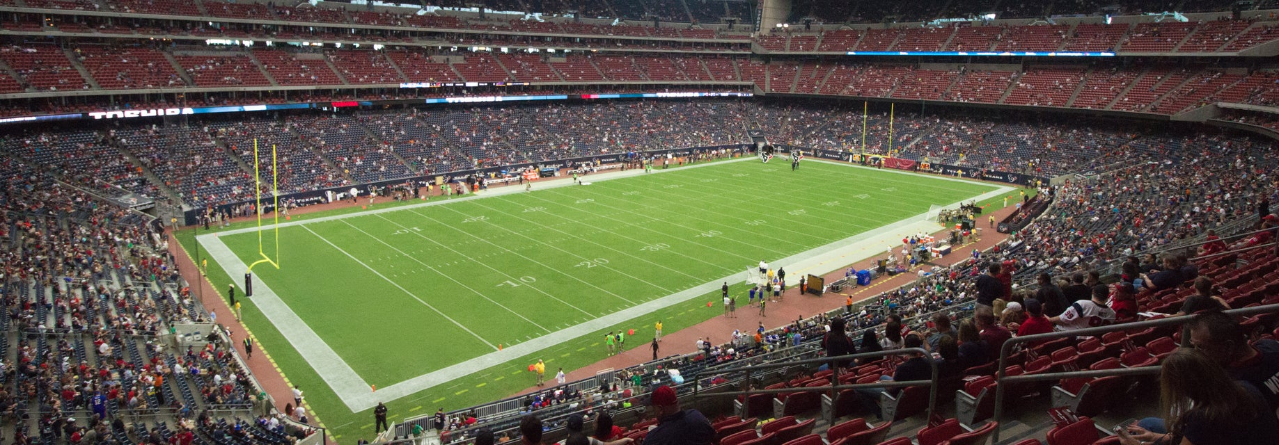 Seat view from Verizon Club Two