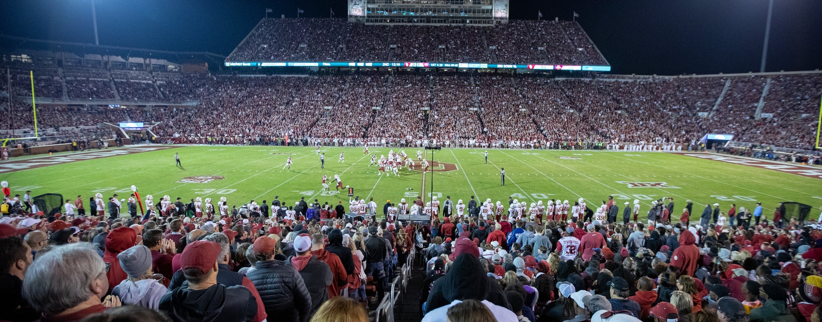 Seat view from Lower Sideline