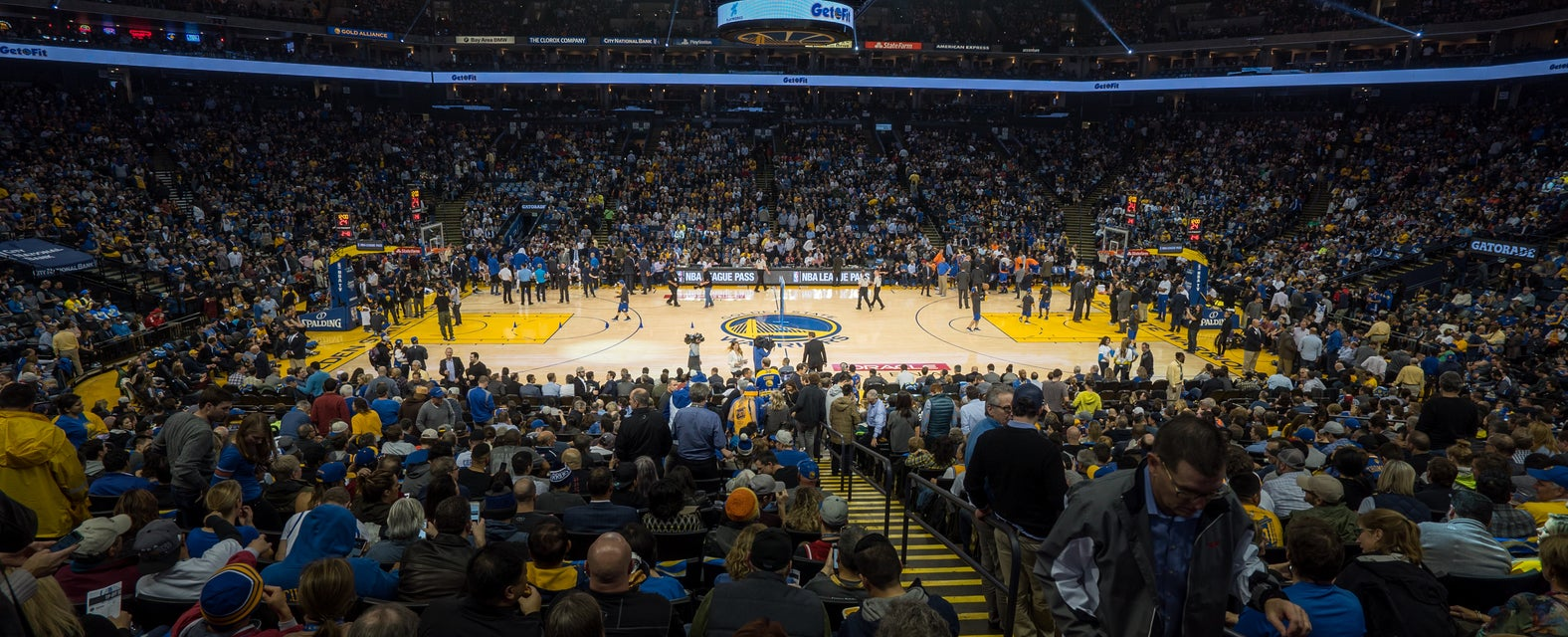 Seat view from Sideline Club