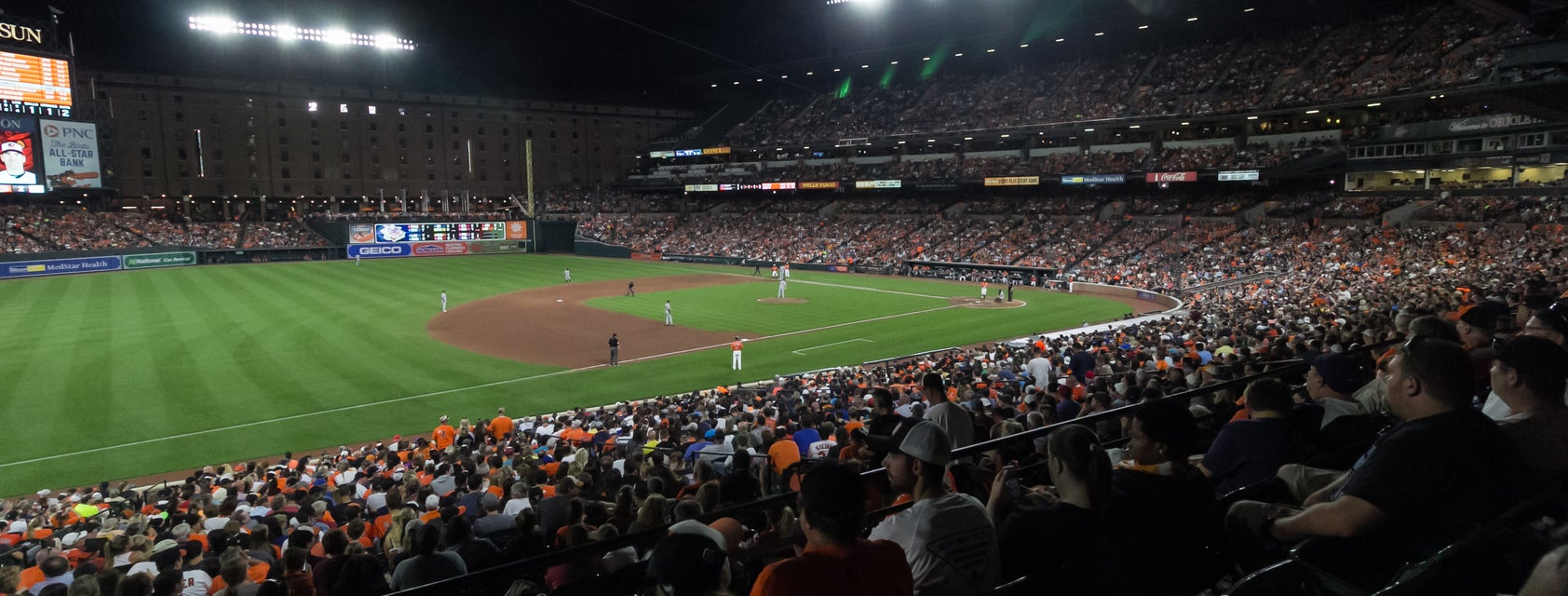 Seat view from Lower Reserve - Outfield