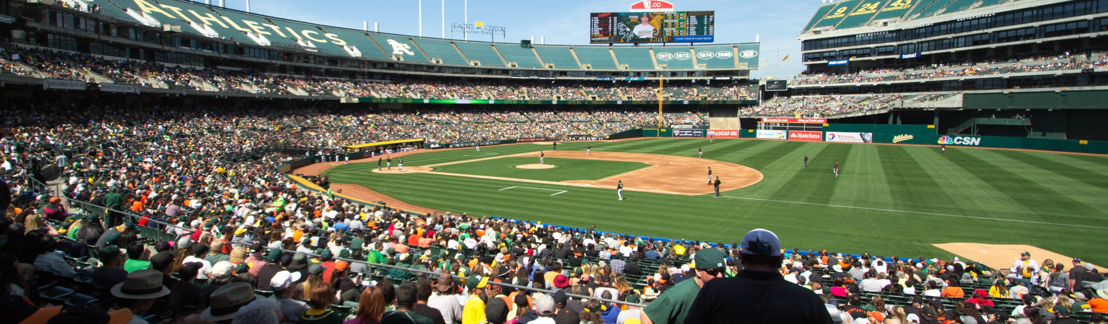 Seat view from Field Infield