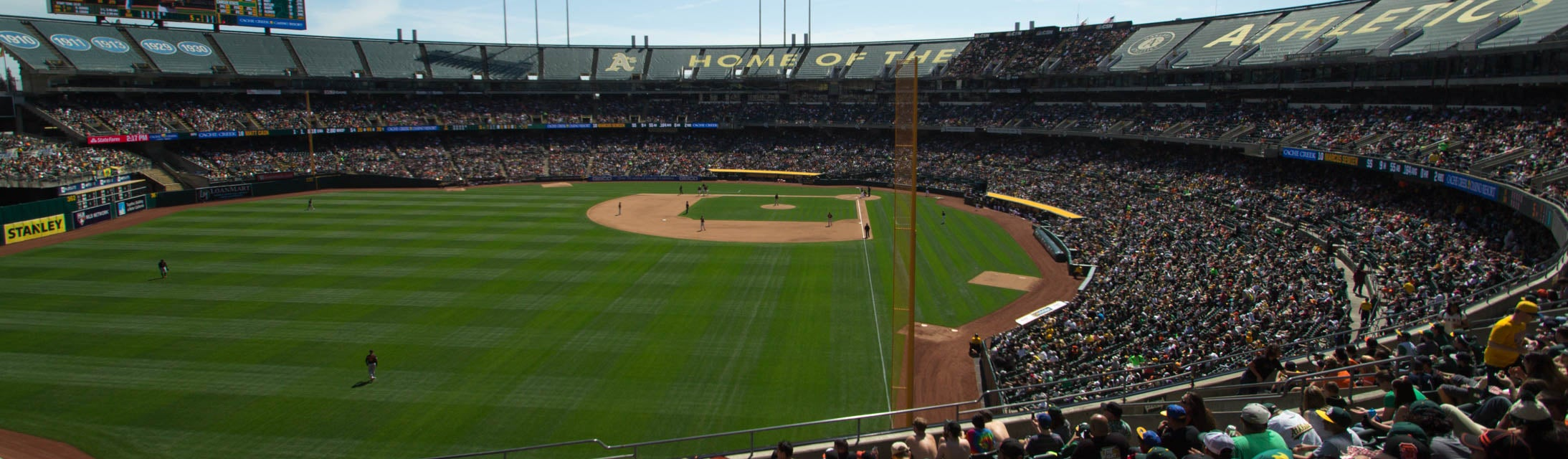 Seat view from Plaza Outfield
