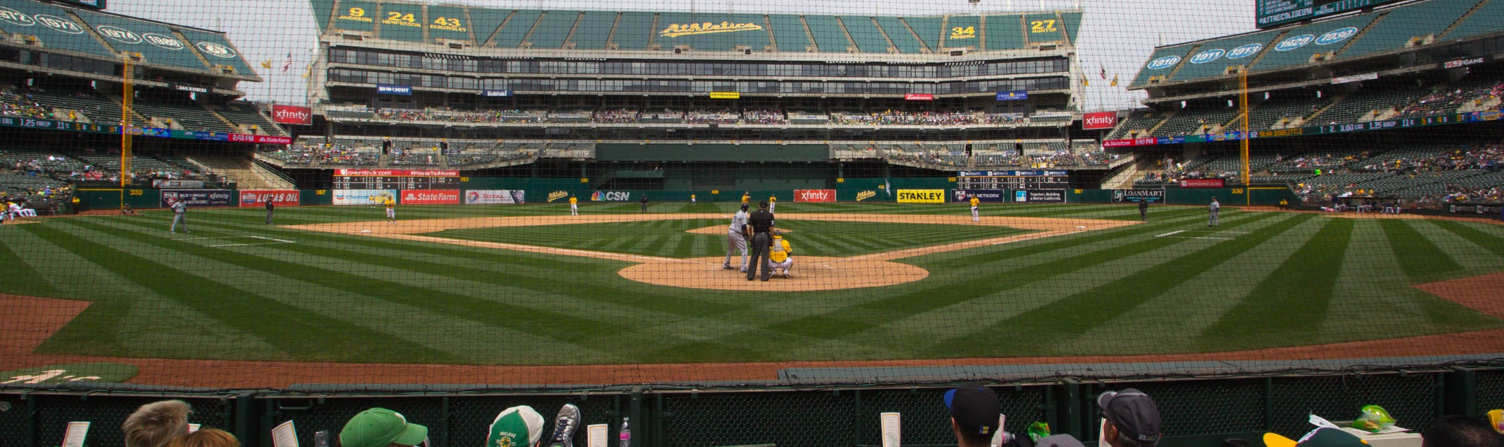 Seat view from Diamond Level
