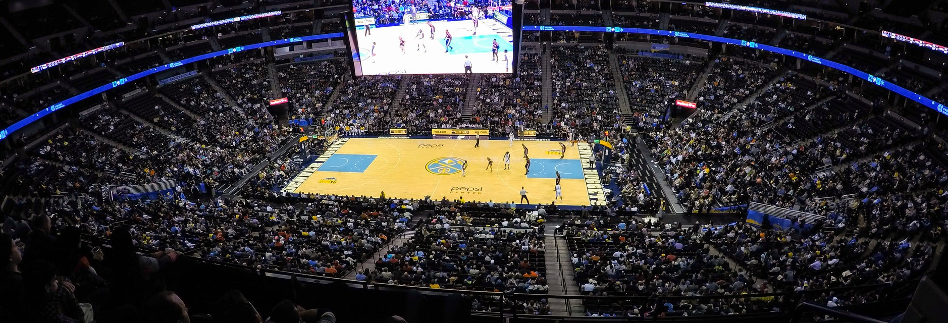 Seat view from Lower Center Balcony