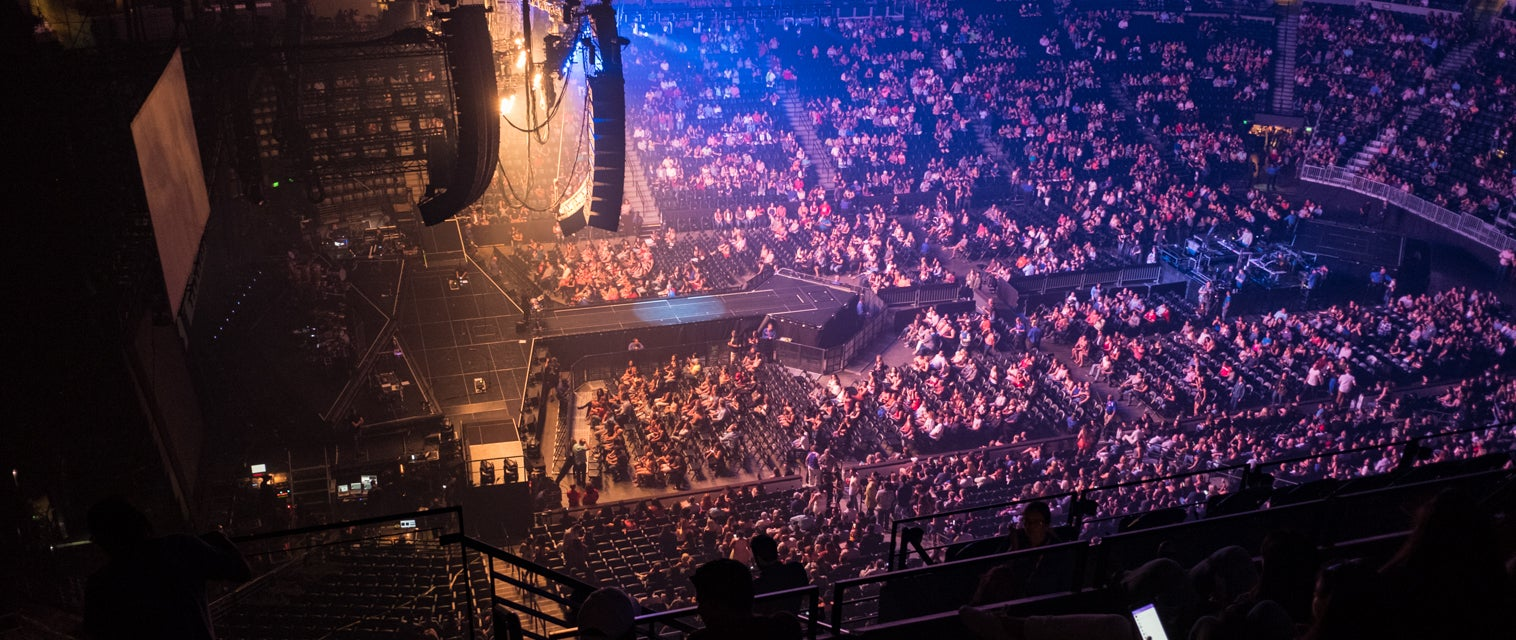 Seat view from Upper Corner Balcony