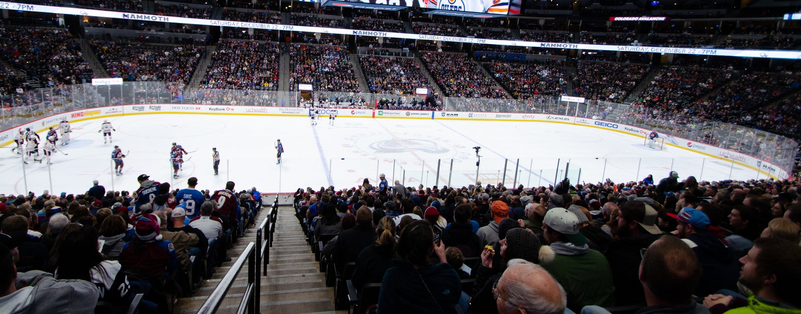 Seat view from Center Loge