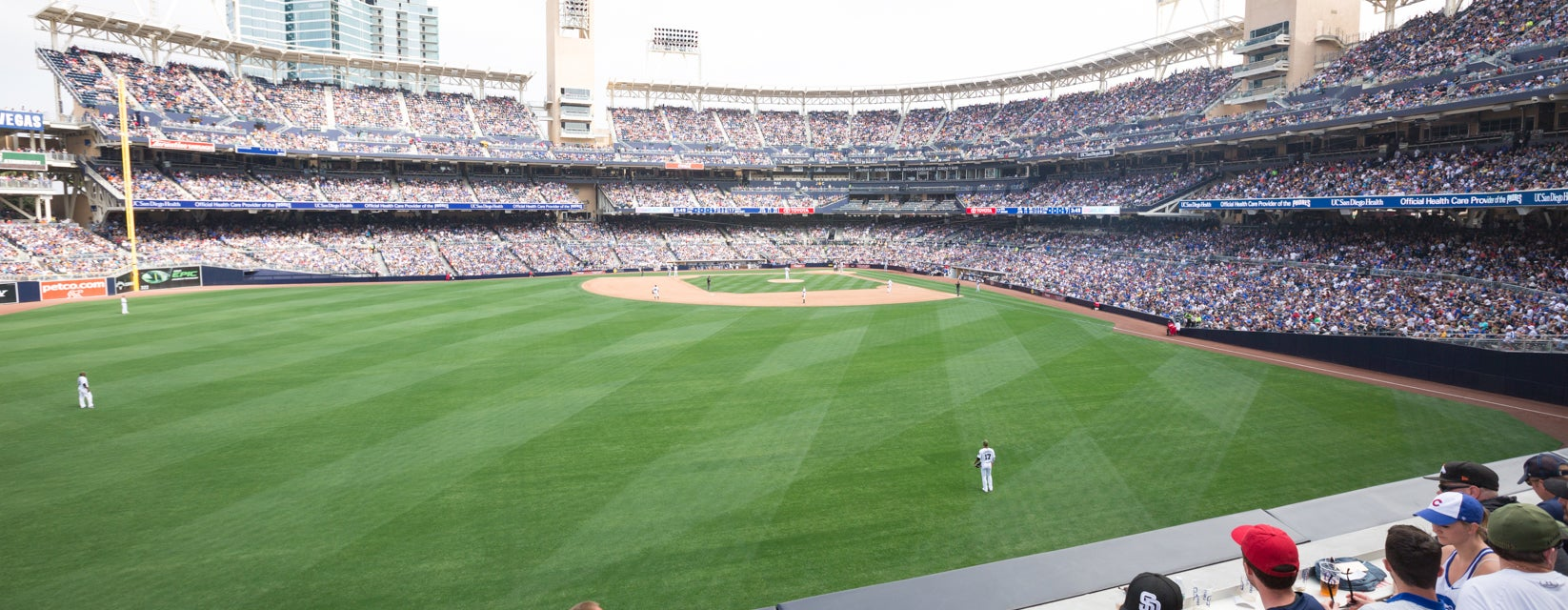 Seat view from LF Reserved