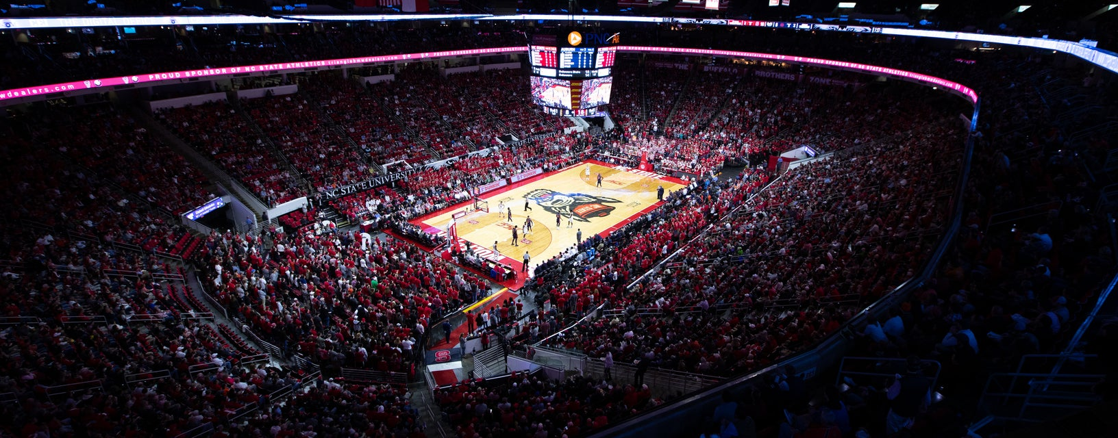 Seat view from Upper Sidecourt