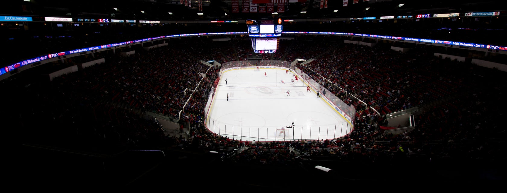 Seat view from Club Ledge