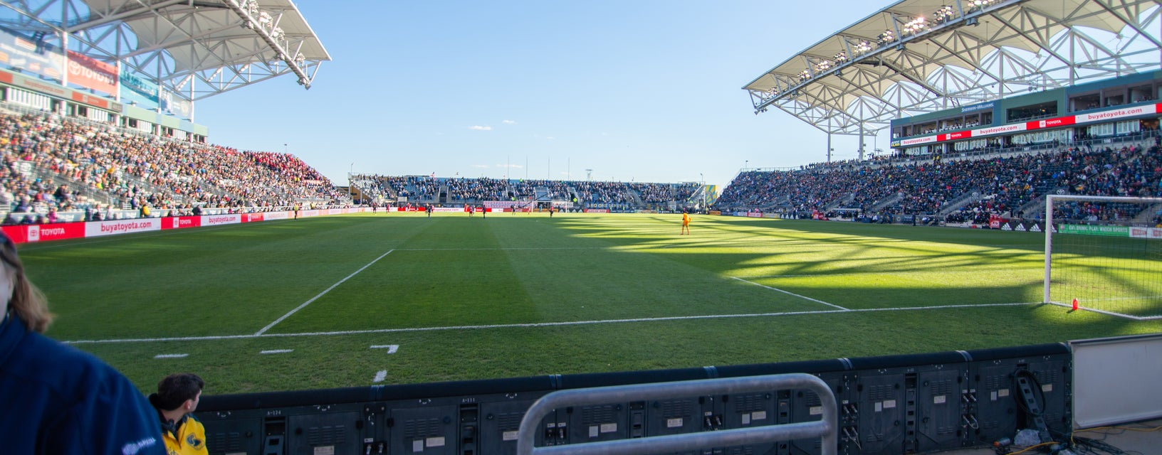 Seat view from North End