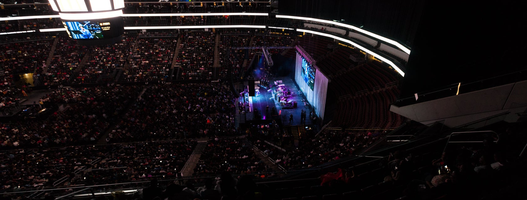 Seat view from Mezzanine