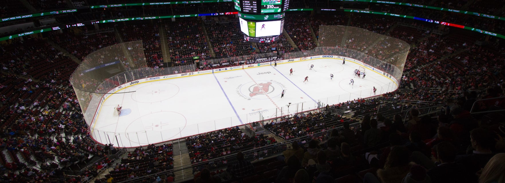 Seat view from Mezzanine Sideline