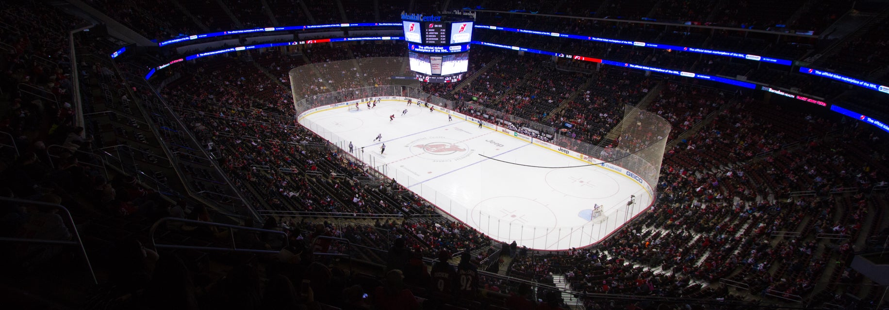 Seat view from Mezzanine Sides