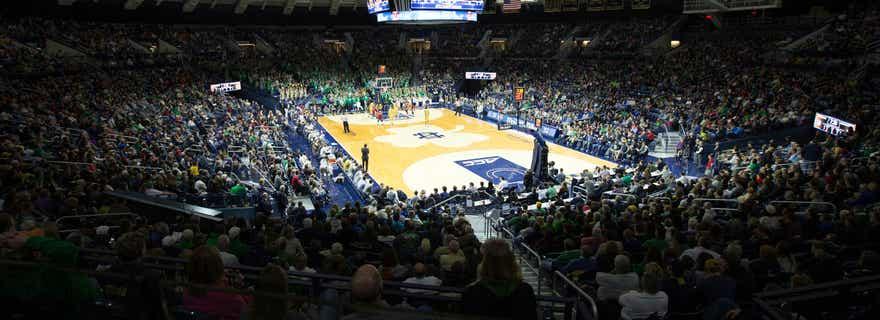 Syracuse Basketball At Notre Dame Basketball At Purcell