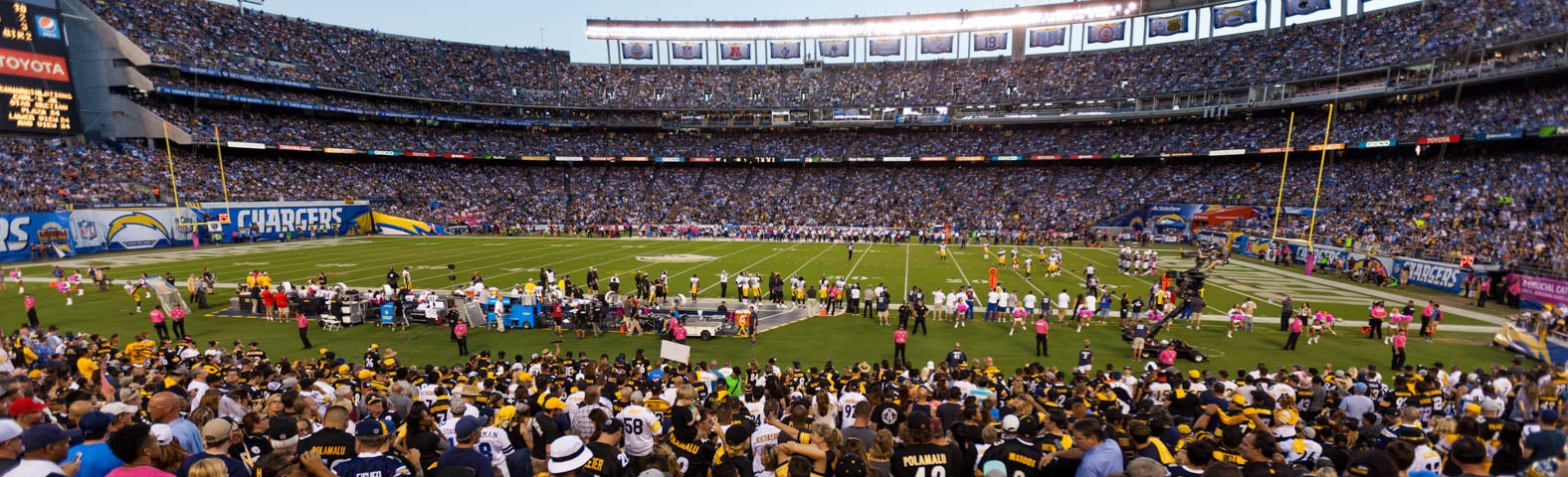 Seat view from Field Level
