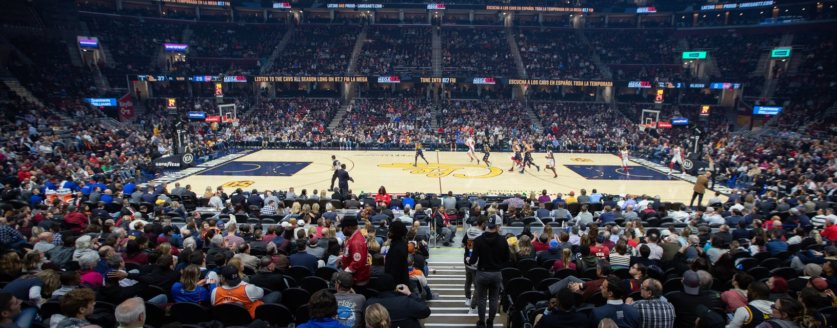 Seat view from Gold Center Straight