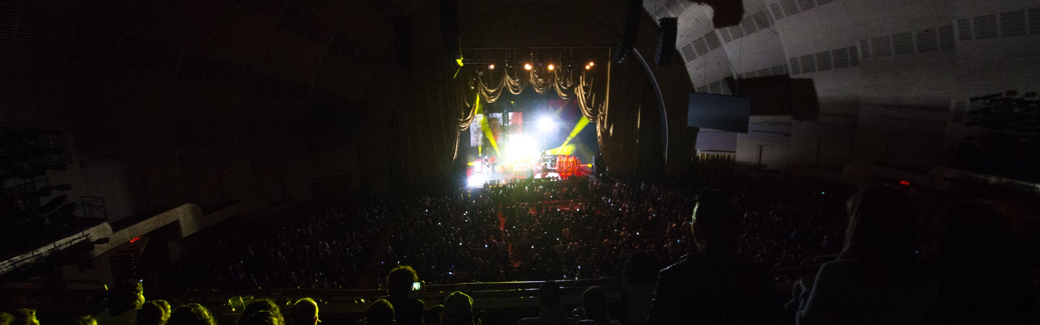 Seat view from Second Mezzanine