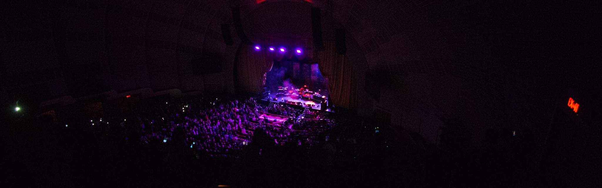 Seat view from Third Mezzanine