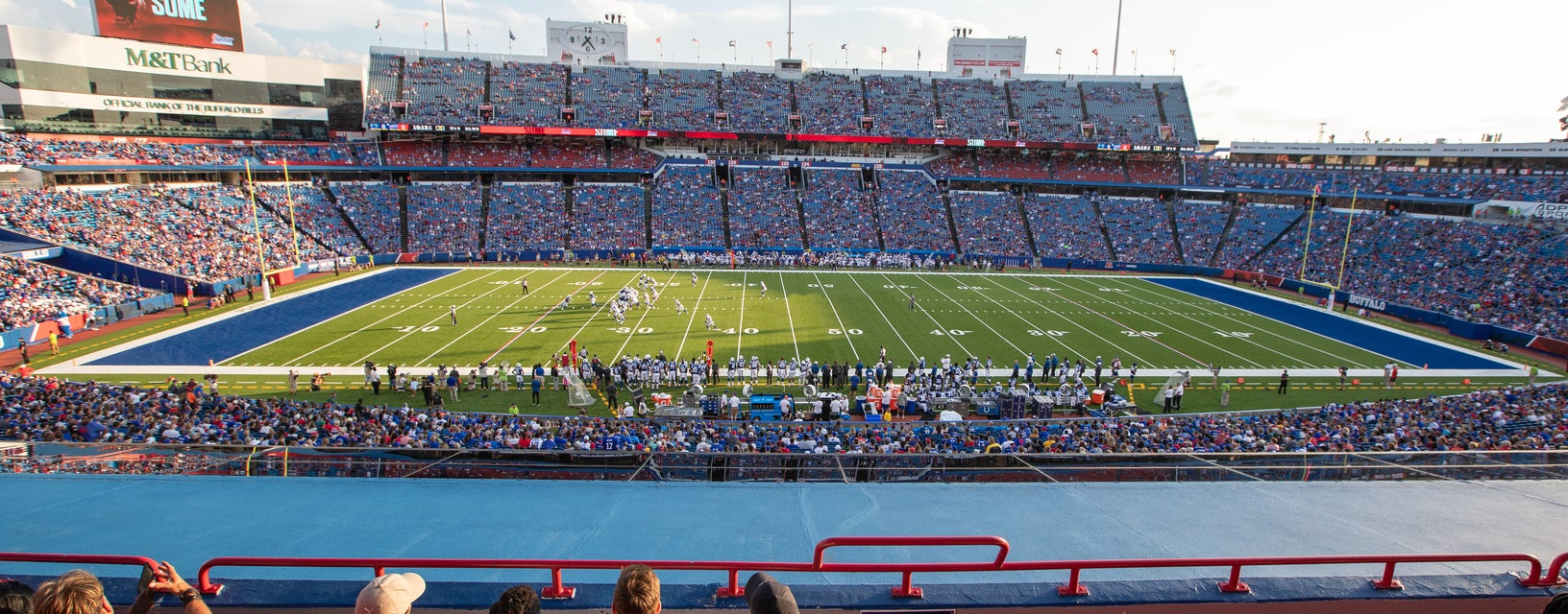 Seat view from Club Level Sidelines