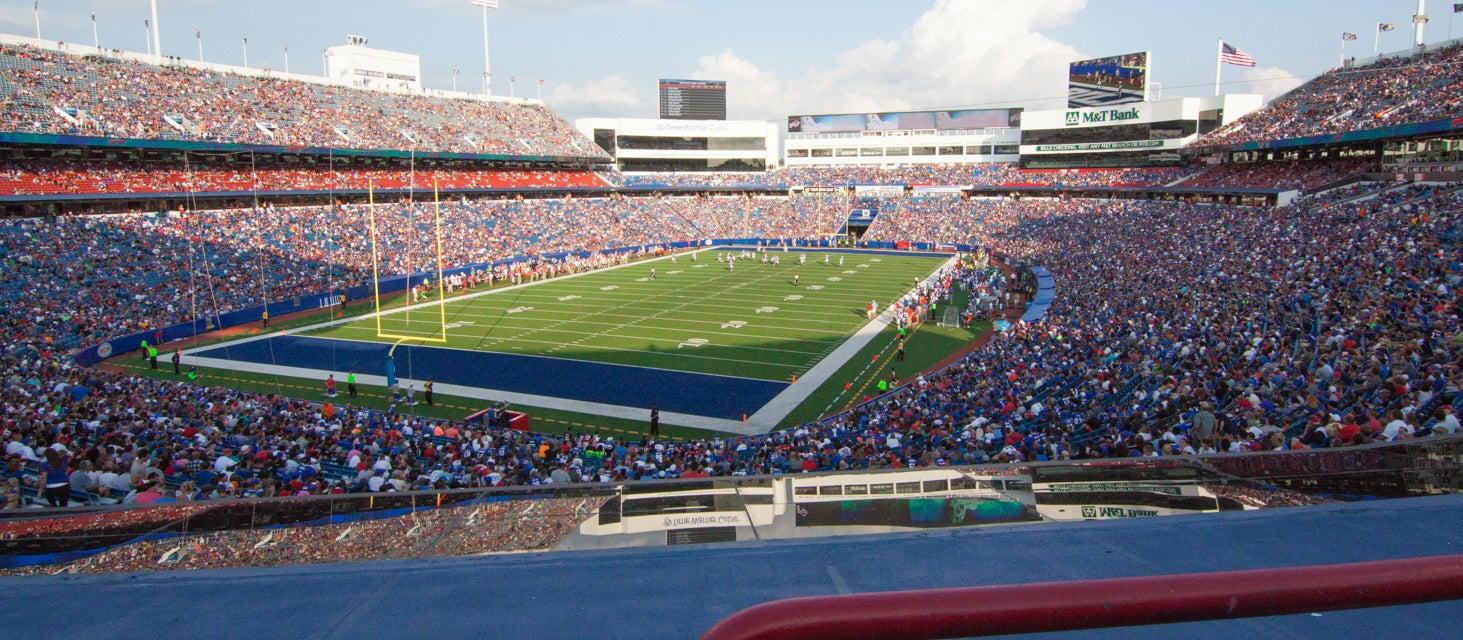 Seat view from Labatt Blue Zone