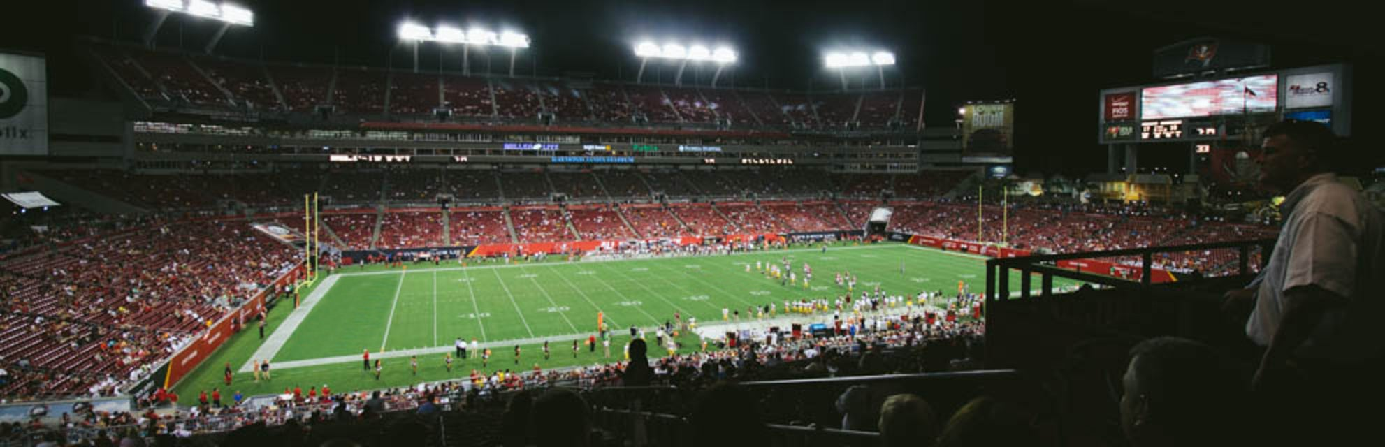 Seat view from Middle Sideline
