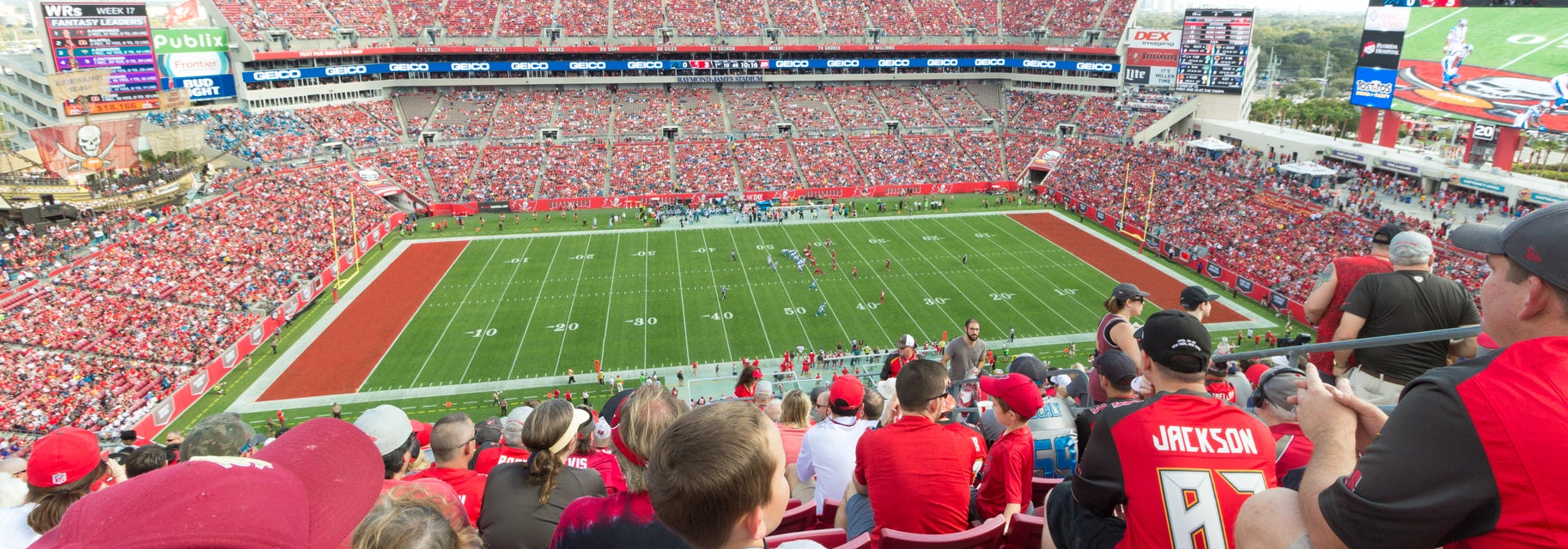Seat view from Upper Deck
