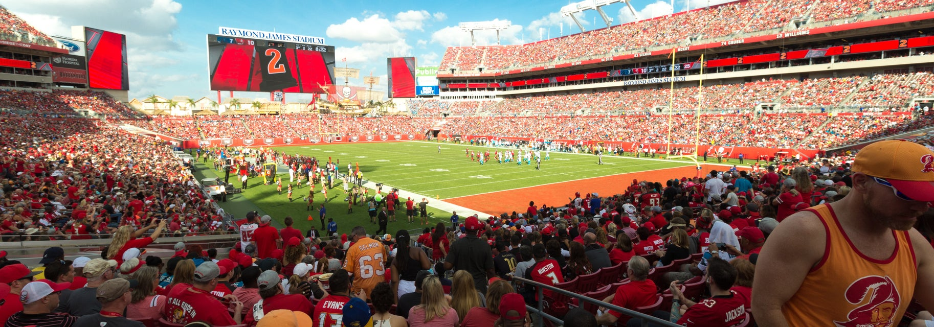 Seat view from Lower Corner