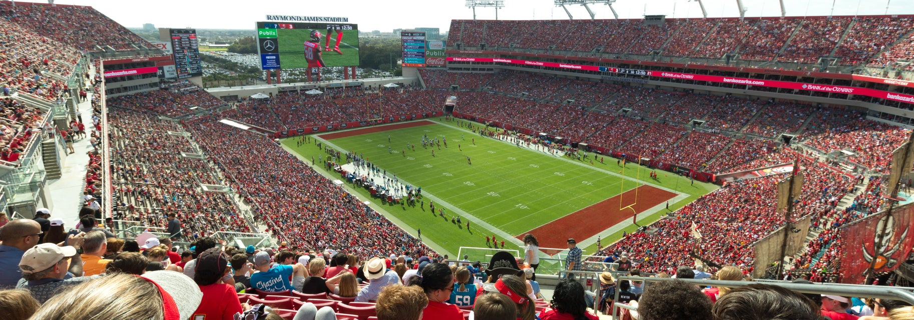 Seat view from Upper Deck Corner