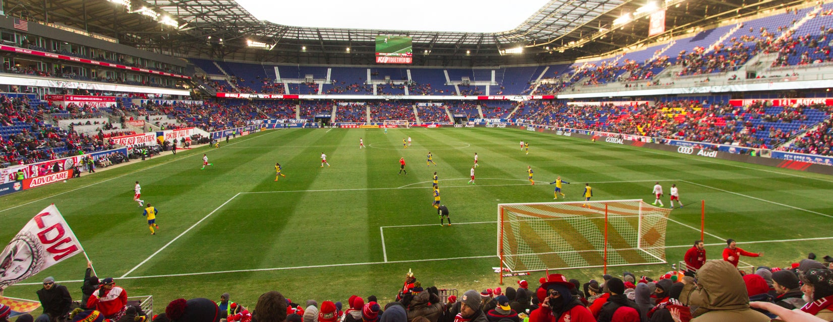 Seat view from Supporters