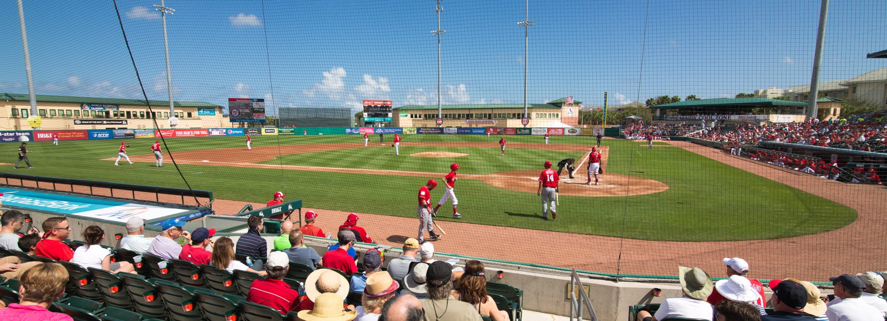 Seat view from Field Box