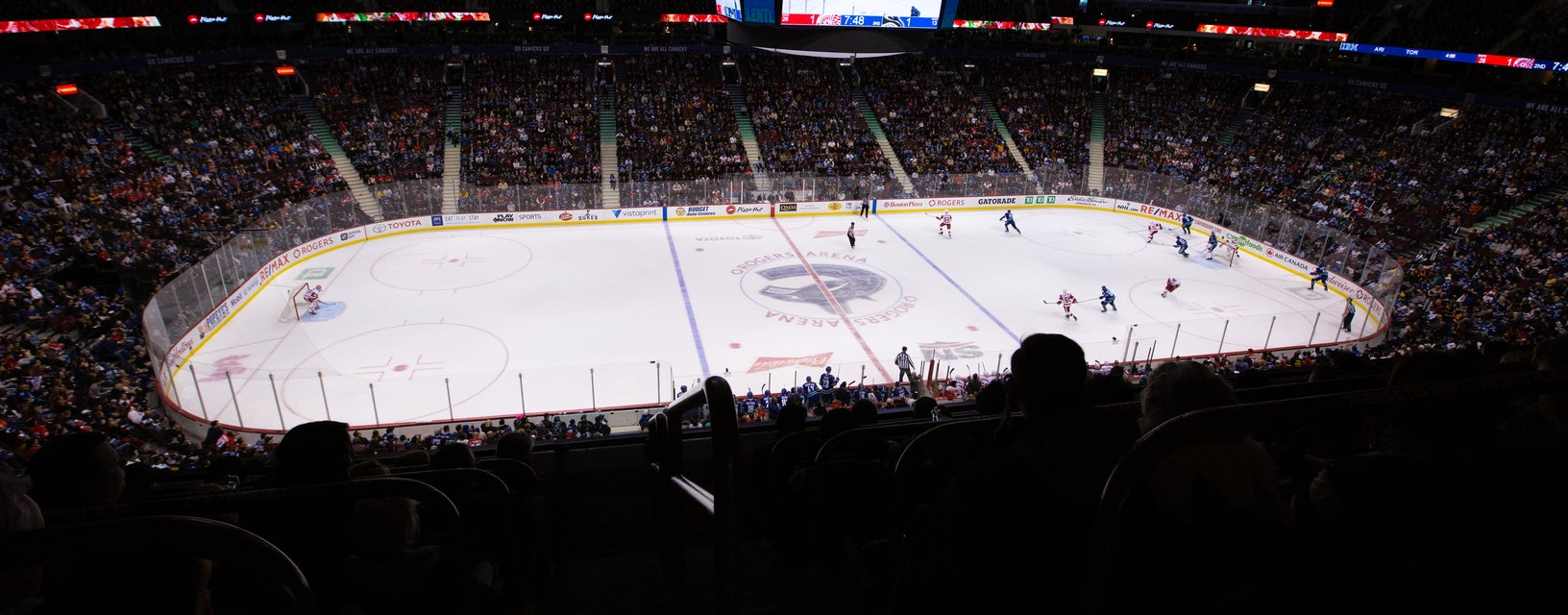 Seat view from Upper Bowl Center
