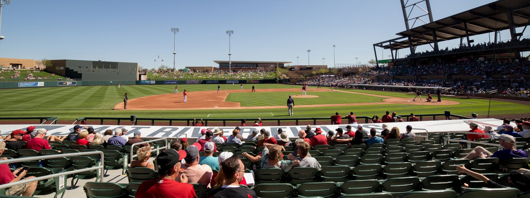 Seat view from Dugout Reserve