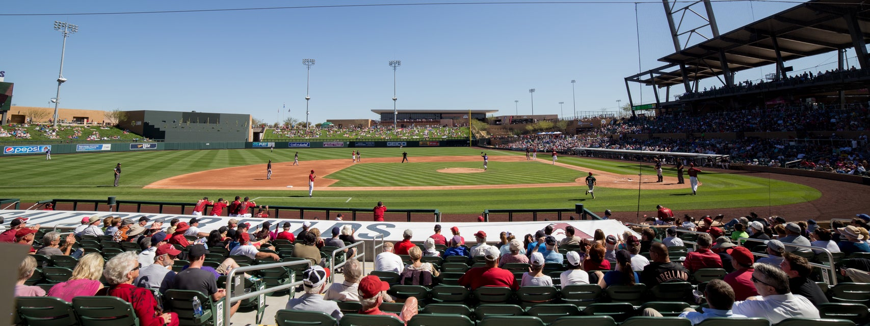 Seat view from Infield Reserve