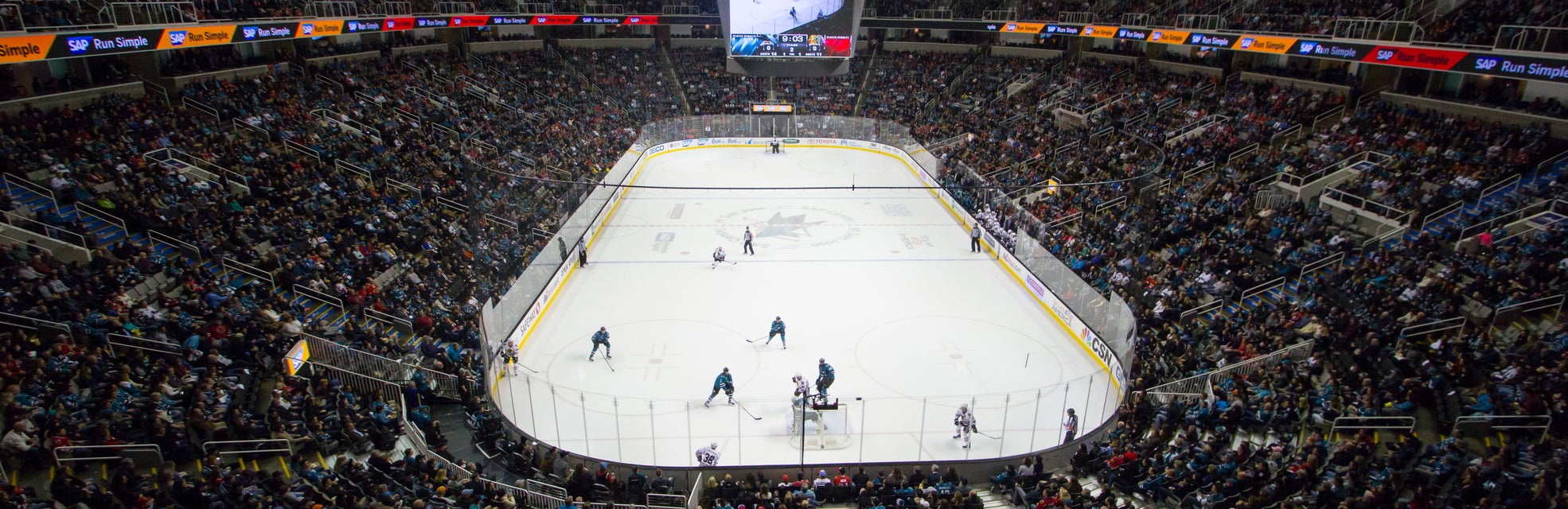 Seat view from Upper Goal